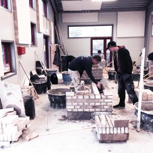 Builders before the design sprint workshop