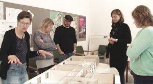 Workshop omkring biblioteket